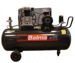 2 hengeres kompresszor, 200L tartály, 400V 4LE motor, 400 l/min, 11Bar NS29S/200 CT4