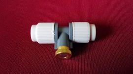 Párakapu párásító szorófej T-alakú, réz-acél fúvókával 2~20bar 1.2-4.8liter/óra