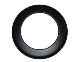 KoloTech Ø130 Fekete füstcső csőrózsa 1.6mm