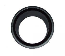 KoloTech Ø130 Fekete füstcső duplafalú hüvely 1.6mm