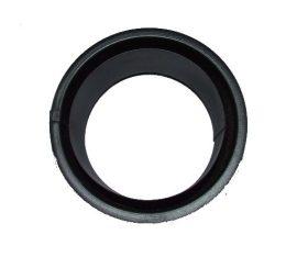 KoloTech Ø150 Fekete duplafalú hüvely 1.6mm