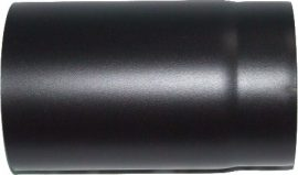 KoloTech Ø120/250 Fekete füstcső 1.6mm