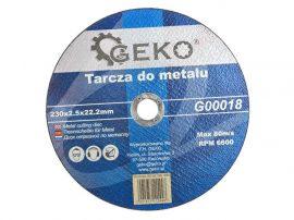 Geko vágókorong fémre 230x2.5x22.0