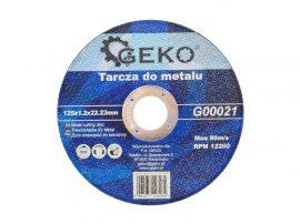 Geko vágókorong fémre 125x1.2x22.0