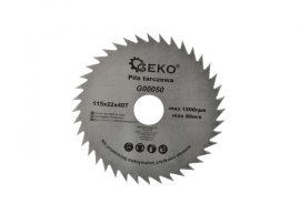 GEKO körfűrészlap fához 115x22x40