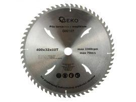 GEKO vídia betétes körfűrészlap fához 400x32x60