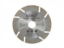 Gyémánt vágótárcsa szürke lézer GEKO 115X22