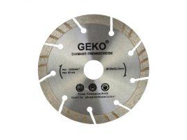 Gyémánt vágótárcsa szürke lézer GEKO 125X22