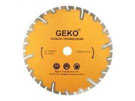 Gyémánt vágótárcsa mély vágáshoz GEKO 230x22