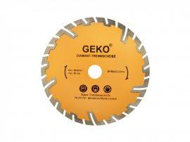 Gyémánt vágótárcsa mély vágáshoz GEKO 180x22