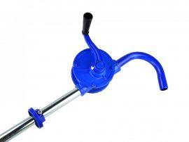 Kézi hordószivattyú 3 részes kék (olaj, gázolaj)