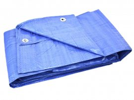 Takaróponyva 5x8m kék 50g/m2 +/-5%