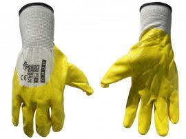 Védőkesztyű GEKON 10-es sárga