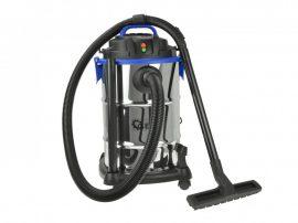 Nedves és száraz ipari porszívó 30L