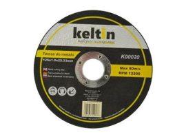Fémvágó lemez 125x1.0mm KELTIN