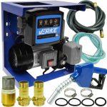 Automata gázolajszivattyú szett 230V 550W 70l/perc, automata töltőpisztolyal, mérőórával, csővel