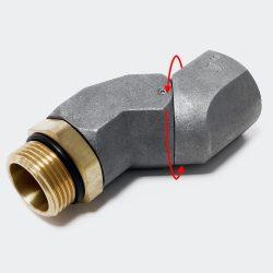 """Forgó könyök csatlakozó 25mm (1"""")"""