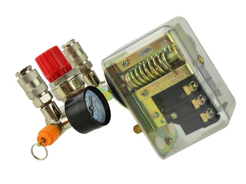 Nyomáskapcsoló nyomásszabályzó szelep 2 órával 400V