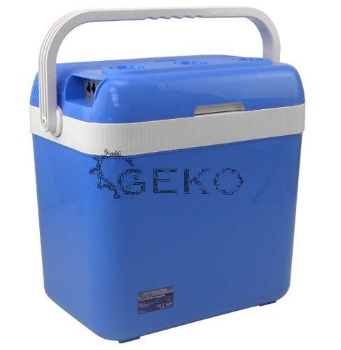 GEKO 12V - 230V Elektromos Hűtőtáska 32L (Fűtő funkcióval)