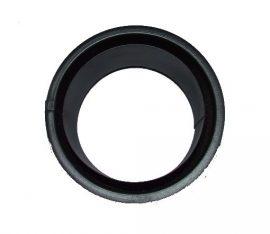 Fekete duplafalú hüvely Ø120 vastag falú csövekhez