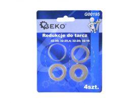 Szűkítő gyűrű készlet 4db (32-30;32-25.4;32-20;32-16) (500)