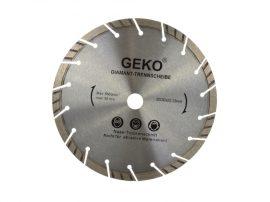 Gyémánt vágótárcsa szürke lézer GEKO 230X22