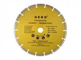 Gyémánt vágótárcsa szegmentált, PROFI 230x22