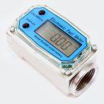 Üzemanyag, olaj, gázolaj, átfolyásmérő, Digitális fogyasztásmérő óra